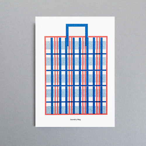 A3 Laundry Bag Riso Print