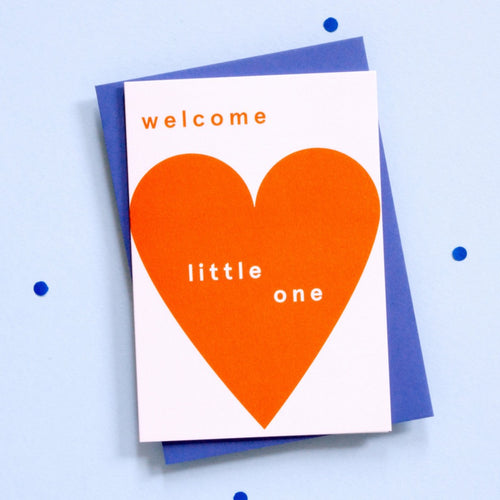 Welcome Little One - Card