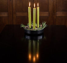 Load image into Gallery viewer, British Colour Standard Dinner Candle Pack of 6 - Olive Green