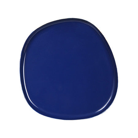 Imperfect Shaped Blue Tray