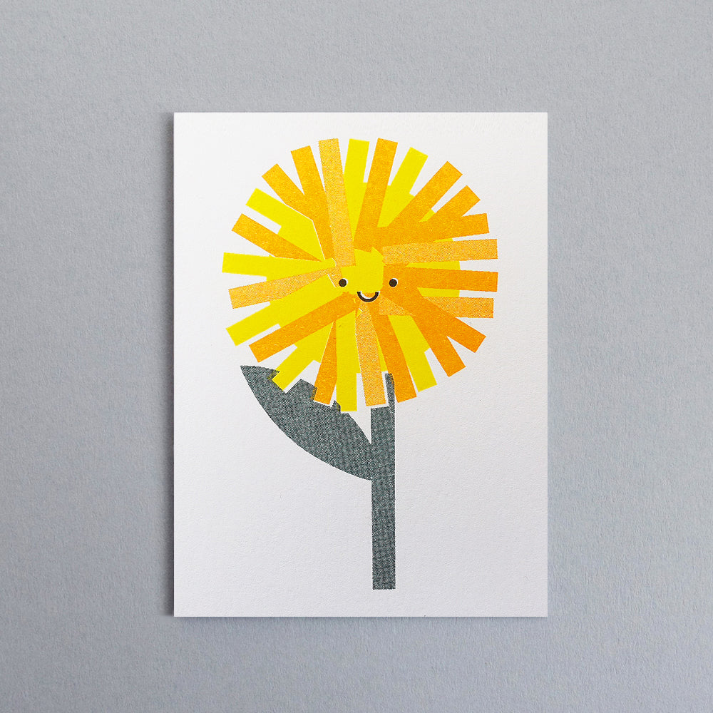 Dandelion Mini Card