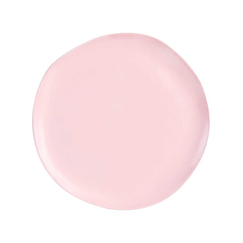 Irregular Shaped Plate - Pink