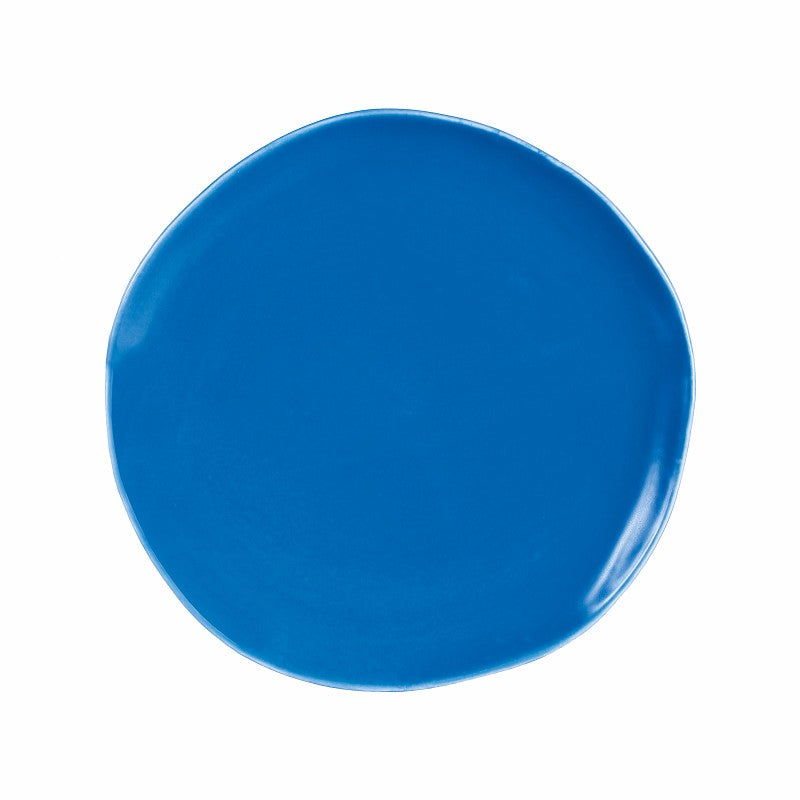 Irregular Shaped Plate - Dark Blue