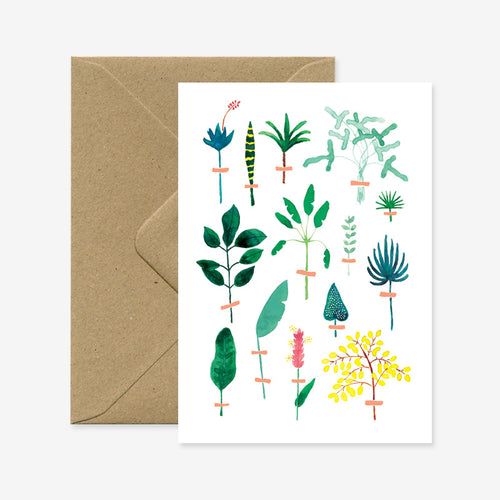 Herbier Exotique Card