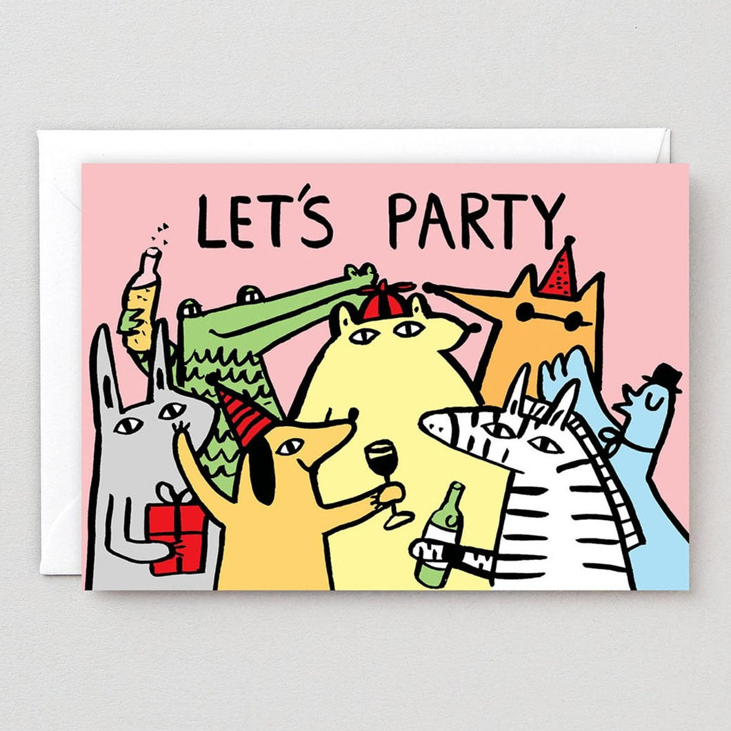 Lets Party Card