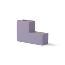 Load image into Gallery viewer, Candle Holder - Lilac Concrete Stairs