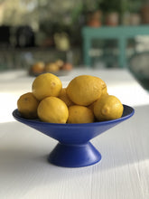 Load image into Gallery viewer, Cobalt Blue Fruit Bowl
