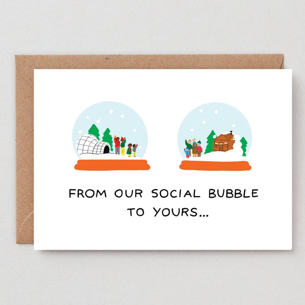 From our Social bubble to yours Card