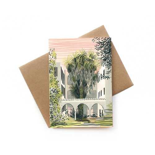 Corfu Concrete Card