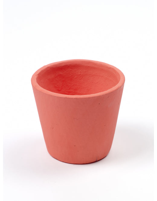 Coral Hand Painted Pot by Serax - Small