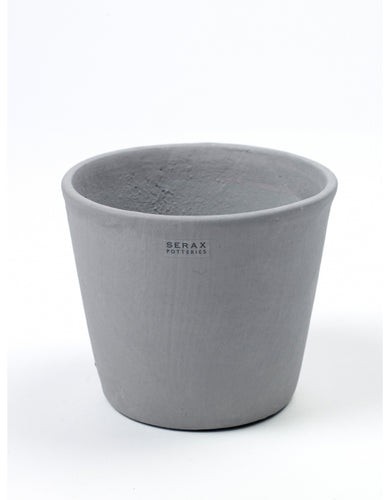 Grey Hand Painted Pot by Serax - Medium