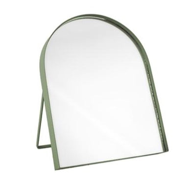 Green Table Mirror