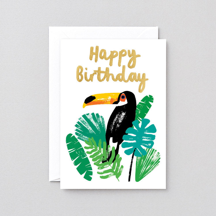 Happy Birthday Toucan Greeting Card