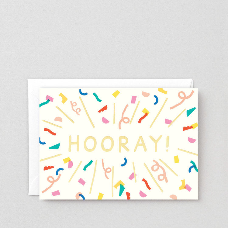 Hooray Burst Card