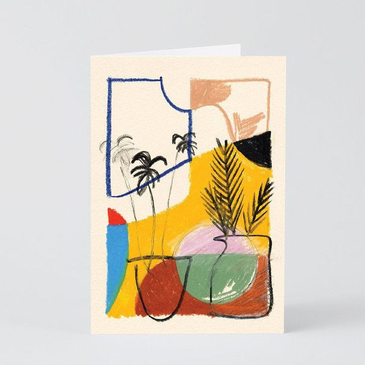 Water The Plants Card