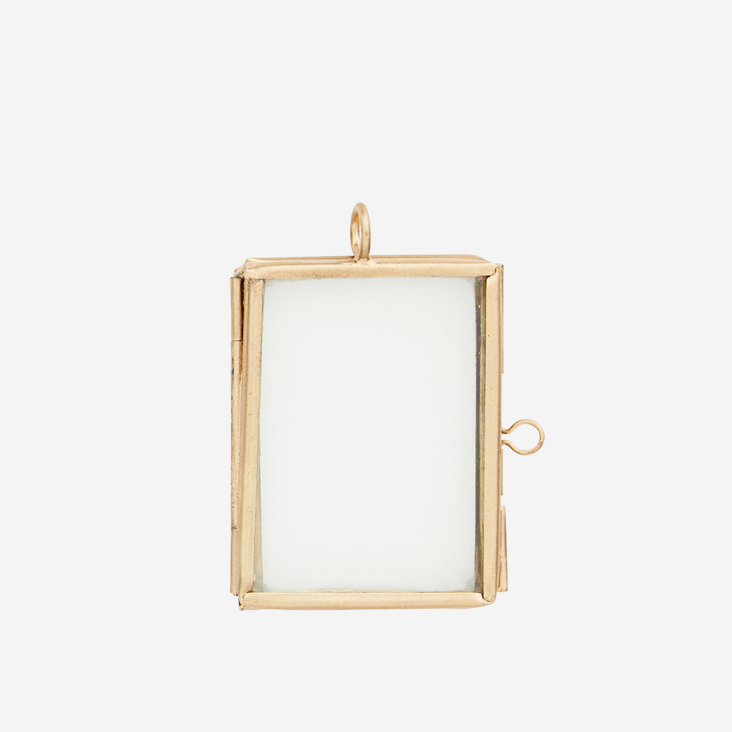 Small Brass Photo Frame