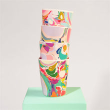 Load image into Gallery viewer, Bamboo Fiber - Marbled Tumbler