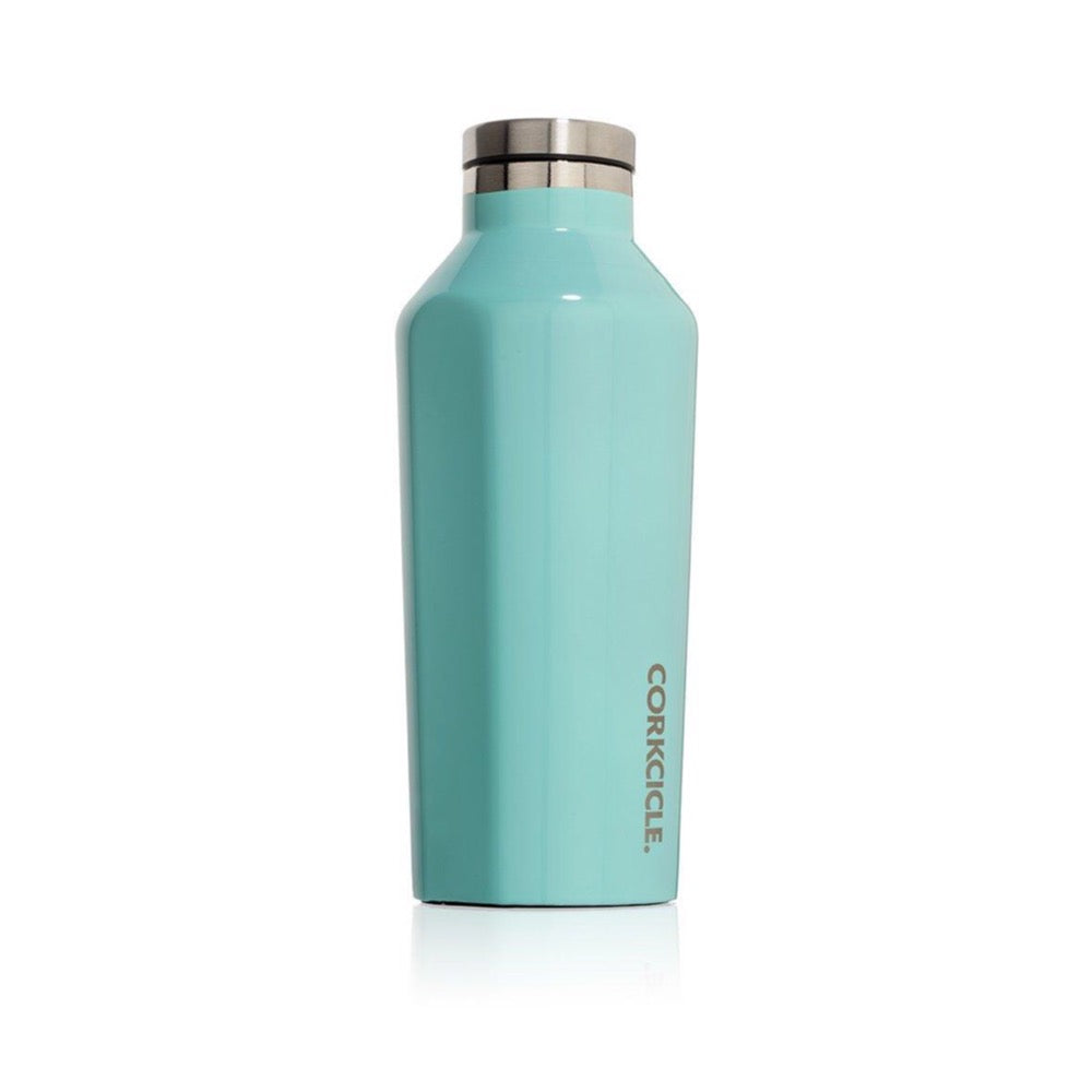 Corkcicle Canteen 9OZ/265ML - Gloss Turquoise