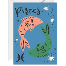 Load image into Gallery viewer, Pisces Card