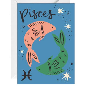 Pisces Card