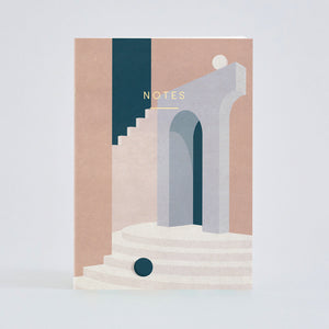 Pastel Doorway Notebook