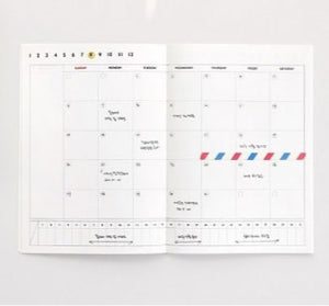 Iconic One Month Planner