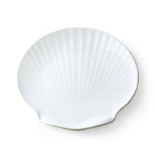 Load image into Gallery viewer, Shell Shaped Ceramic Tray