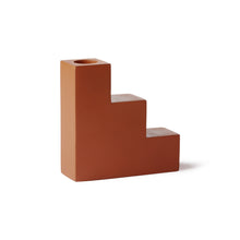 Load image into Gallery viewer, Candle Holder - Orange Concrete Stairs