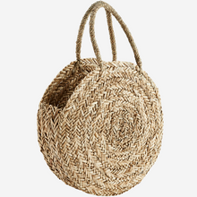 Load image into Gallery viewer, Round Straw Bag