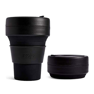 Stojo Collapsible Cup 12oz/355ml - Black