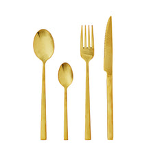 Load image into Gallery viewer, Gold Stainless Steel Cutlery