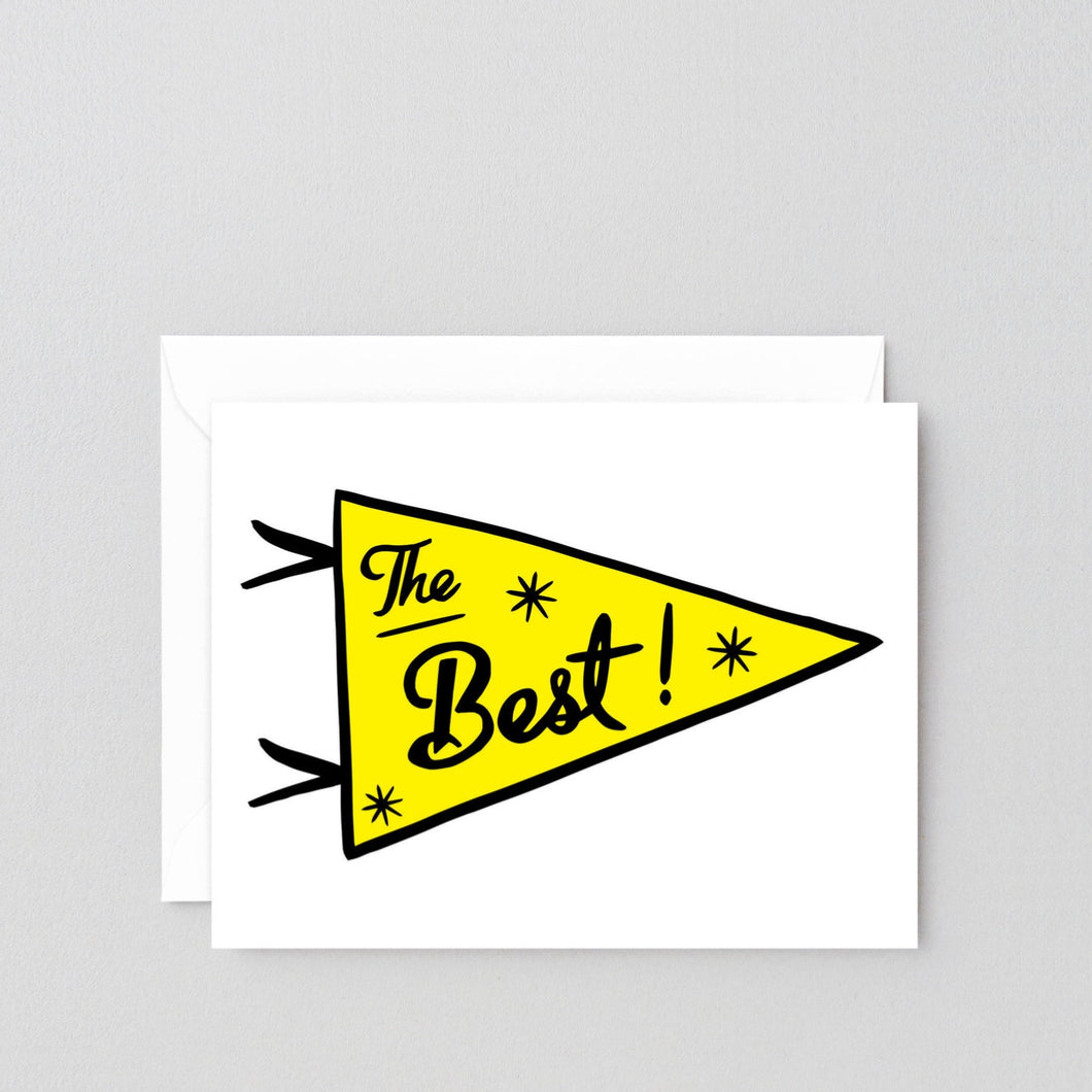 'The Best' Card