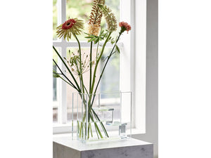 Glass Stairs Vase