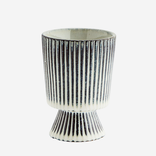 Striped Plant Pot - Small