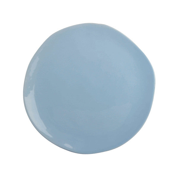 Irregular Shaped Plate - Light Blue