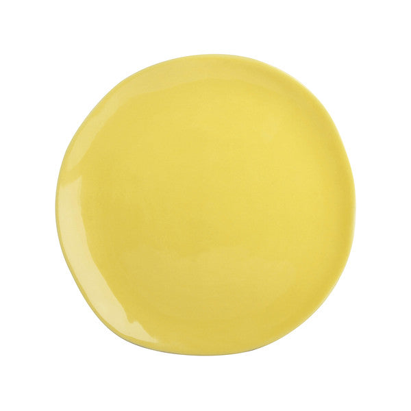 Irregular Shaped Plate - Yellow