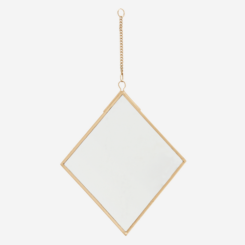 Diamond Hanging Mirror
