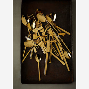 Gold Stainless Steel Cutlery