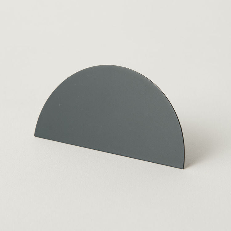 Geometric Photo Clip - Grey Circle