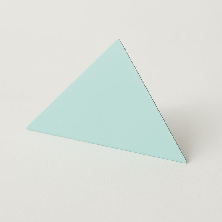 Geometric Photo Clip - Blue Triangle