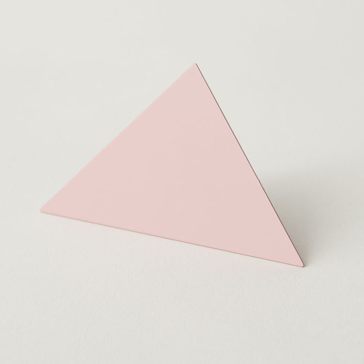 Geometric Photo Clip - Pink Triangle