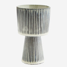 Load image into Gallery viewer, Striped Plant Pot - Medium