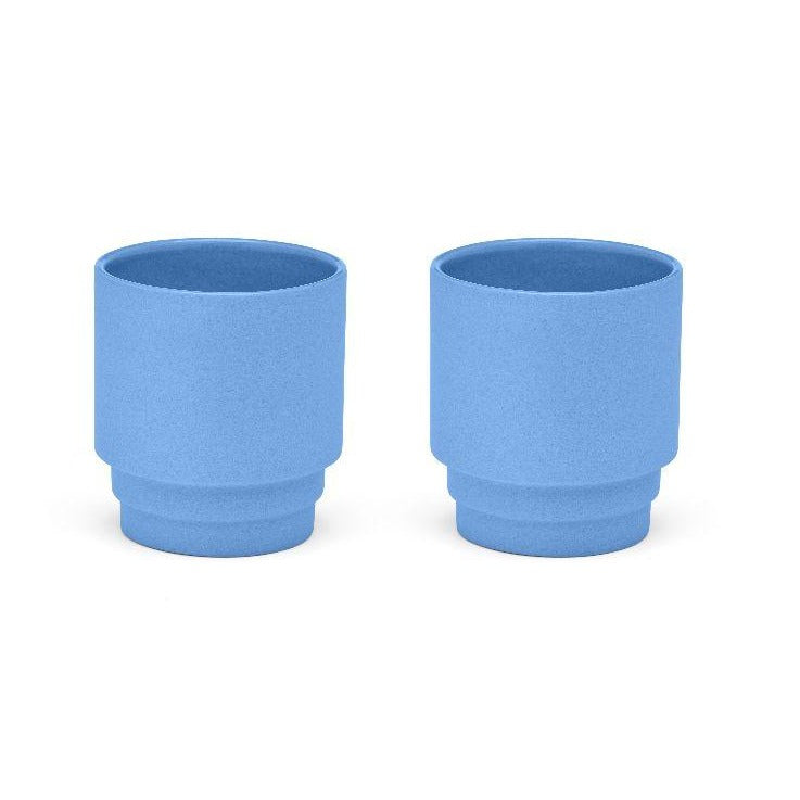 Blue Espresso Mugs - Set of 2
