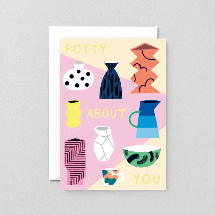 Potty About You Greeting Card