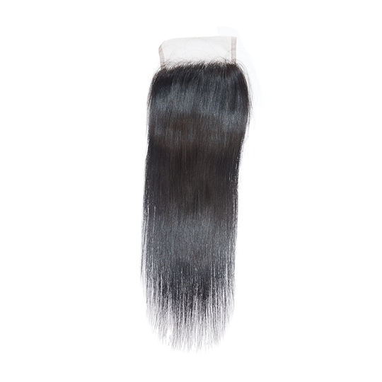 9A (Silky Straight) Human Hair Lace Closure