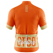 Cycling Jersey Manga Corta Hombre OTSO Orange