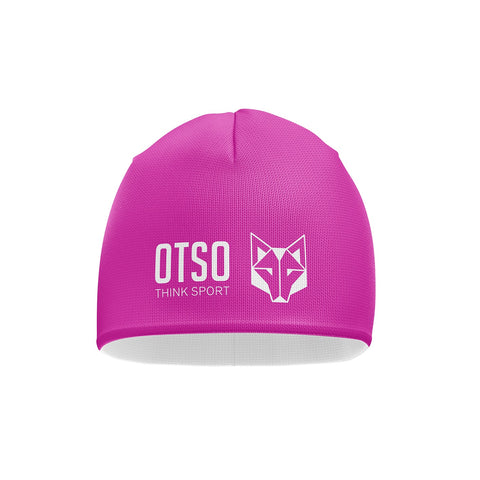 Hat Fluo Pink / White