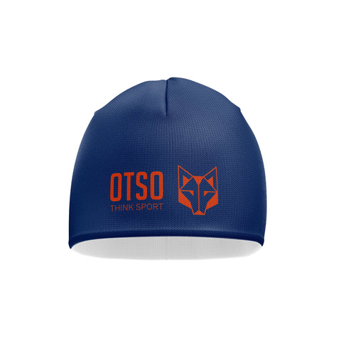 Hat Navy Blue / Fluo Orange
