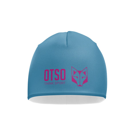 Gorro Light Blue / Fluo Pink