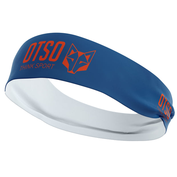 Headband Otso Sport Navy Blue / Fluo Orange